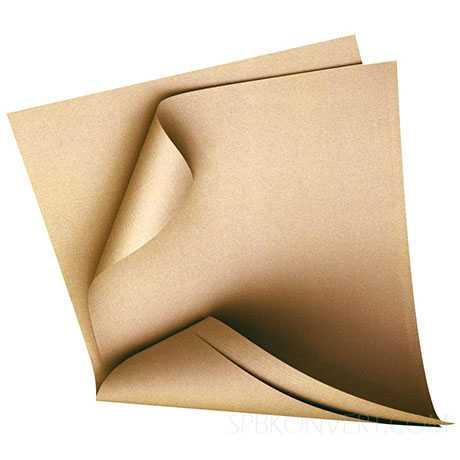 Оберточная крафт бумага в листах